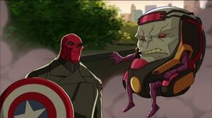 M.O.D.O.K. and Red Skull