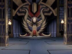 Morgaine Le Fey's Throne Room