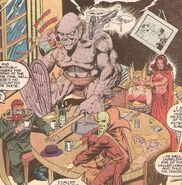 Original Members of Monster Society of Evil