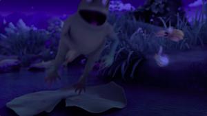 Rib-It catches Maya and the fireflies