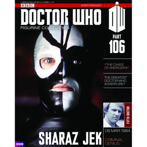 Sharaz-jek-doctor-who-collection-numero-106