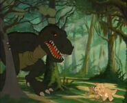 Sharptooth attack