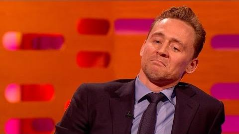 Video - Tom Hiddleston's celebrity impressions - The Graham