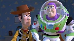 Toy story Sid explodes a Combat Carl