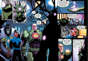 Brainiac join the team