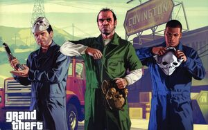 Grand theft auto v trevor philips-wide