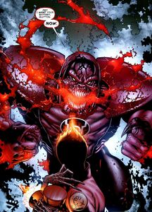 Larfleeze and Atrocitus