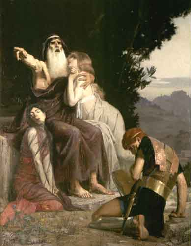an analysis of the downfall of the characters of creon from the play antigone by sophocles and oedip