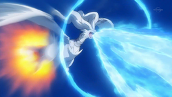 Reshiram use Blue Flare