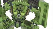 Constructicon LONGHAUL Transform - Short Flash Transformers Series