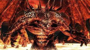 Dark Souls 2 Old Iron King Boss Fight (4K 60fps)