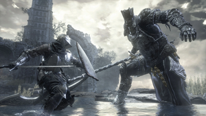 Iudex Gundyr vs Ashen One