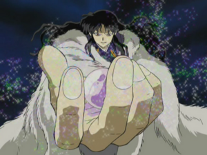 Naraku with Shikon Jewel