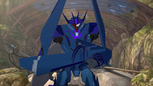 Soundwave Ready for Attack.
