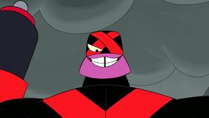Strike's sinister smile