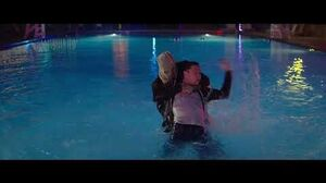 """THE STRANGERS Prey At Night - """"Pool Fight"""" - Full Clip"""