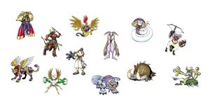 The Digimon Devas