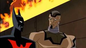 The Stalker saves Batman Beyond