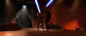 Darth Vader kick