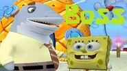 SpongeBob's Boating Bash - Boss (Seymour Scales)