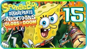 SpongeBob SquarePants & Nicktoons Globs of Doom Walkthrough Part 15 (PS2, Wii) Final boss + Ending