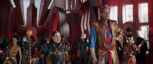 Thor Ragnarok-GrandmasterOrders