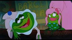 Thumbelina toad mama love