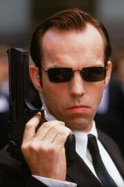 Agent Smith (Clear)