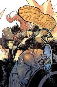 Batgirl Vol 5 10 Textless Variant
