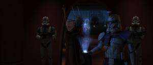 Chancellor Palpatine exits