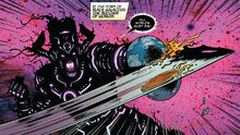 Galan (Earth-14412) and All-Black (Klyntar) (Earth-616) from Mighty Thor Vol 1 700 001 (1)