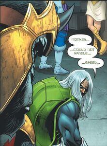 Gorilla Grodd and Turtle (DC) Prime Earth 0001