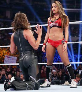 Nikki and Stephanie