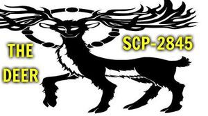 SCP-2845 THE DEER Threat Level - Black containment class Keter animal Extraterrestial scp