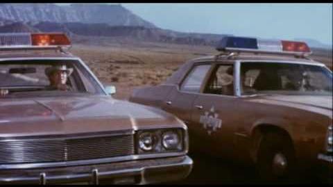 THE CAR (1977, trailer) James Brolin