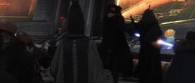 Vader stabs