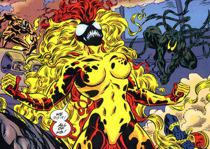 Donna Diego (Earth-616) from Venom Separation Anxiety Vol 1 1 0002