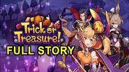 "Dragalia Lost - Halloween Event ""Trick or Treasure"" FULL Story"