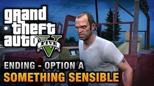 GTA 5 - Ending A Final Mission 1 - Something Sensible (Kill Trevor)
