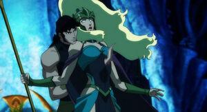 Justice-league-throne-of-atlantis-orm-ocean-master-kills-queen-atlanna-review-dc-comics