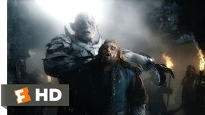 The Hobbit The Battle of the Five Armies - Here Ends Your Bloodline Scene (6 10) Movieclips