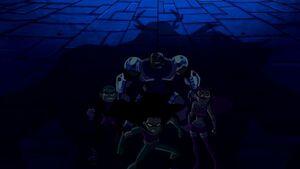 Titans faces Trigon