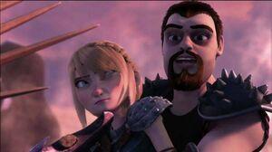 Viggo holds Astrid hostage