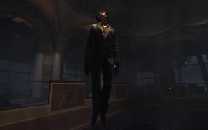 Vladimir Makarov's corpse Dust To Dust MW3