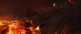 Darth Vader burning