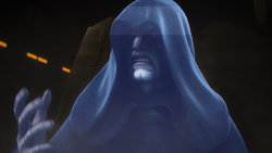 Emperor Palpatine displeased