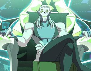 Evil Horde's leader Horde Prime