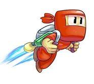 Jetpack ninja