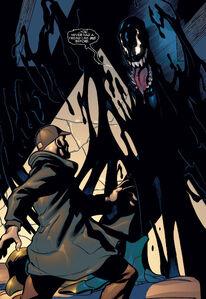 MacDonald Gargan (Earth-616) and Venom (Klyntar) (Earth-616) from Marvel Knights Spider-Man Vol 1 9 0001