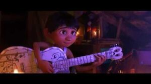 Migel playing guitar (Much Needed Advice) - best Music scenes from Coco (2017)